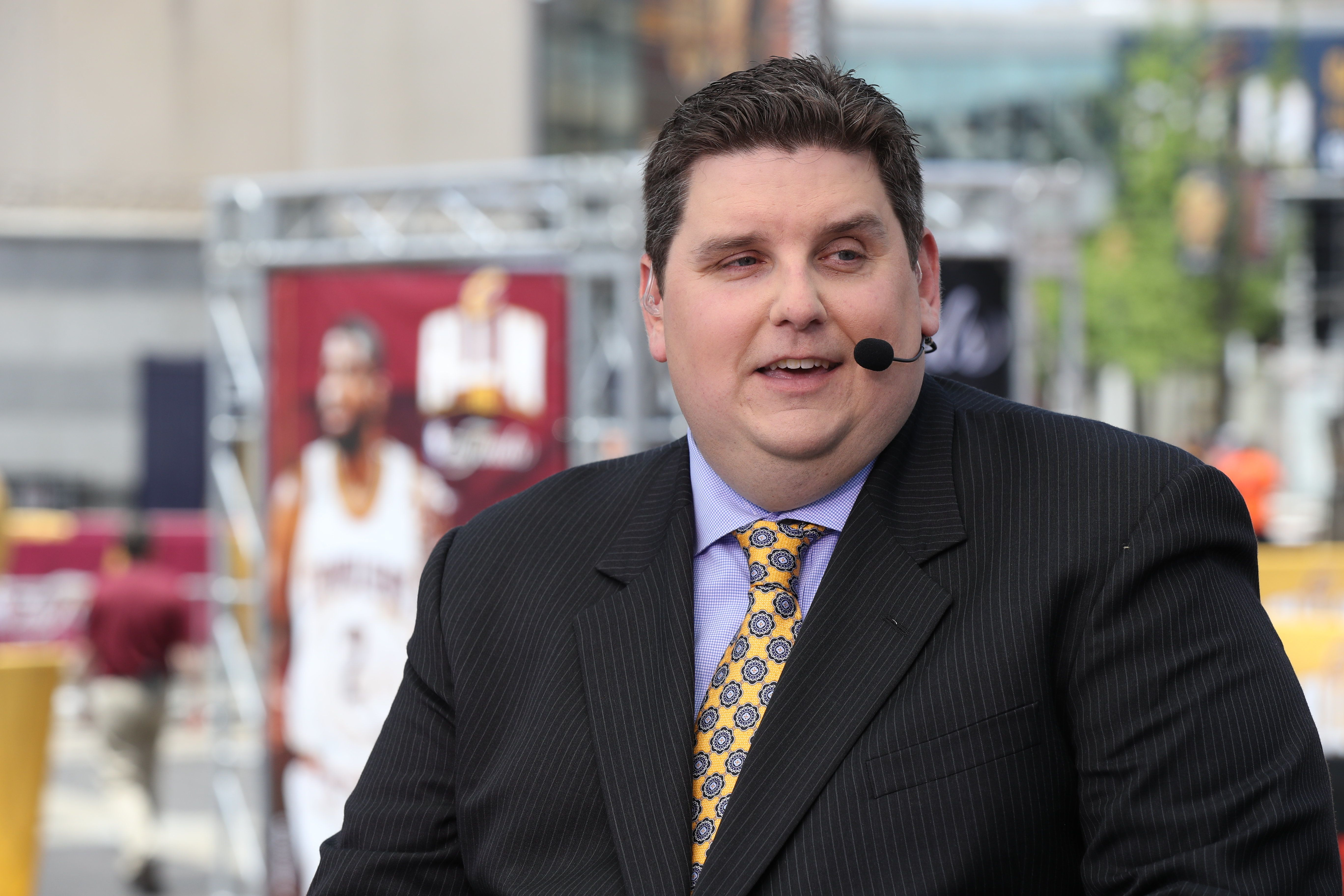 Brian Windhorst Knows More Than He Can Say On