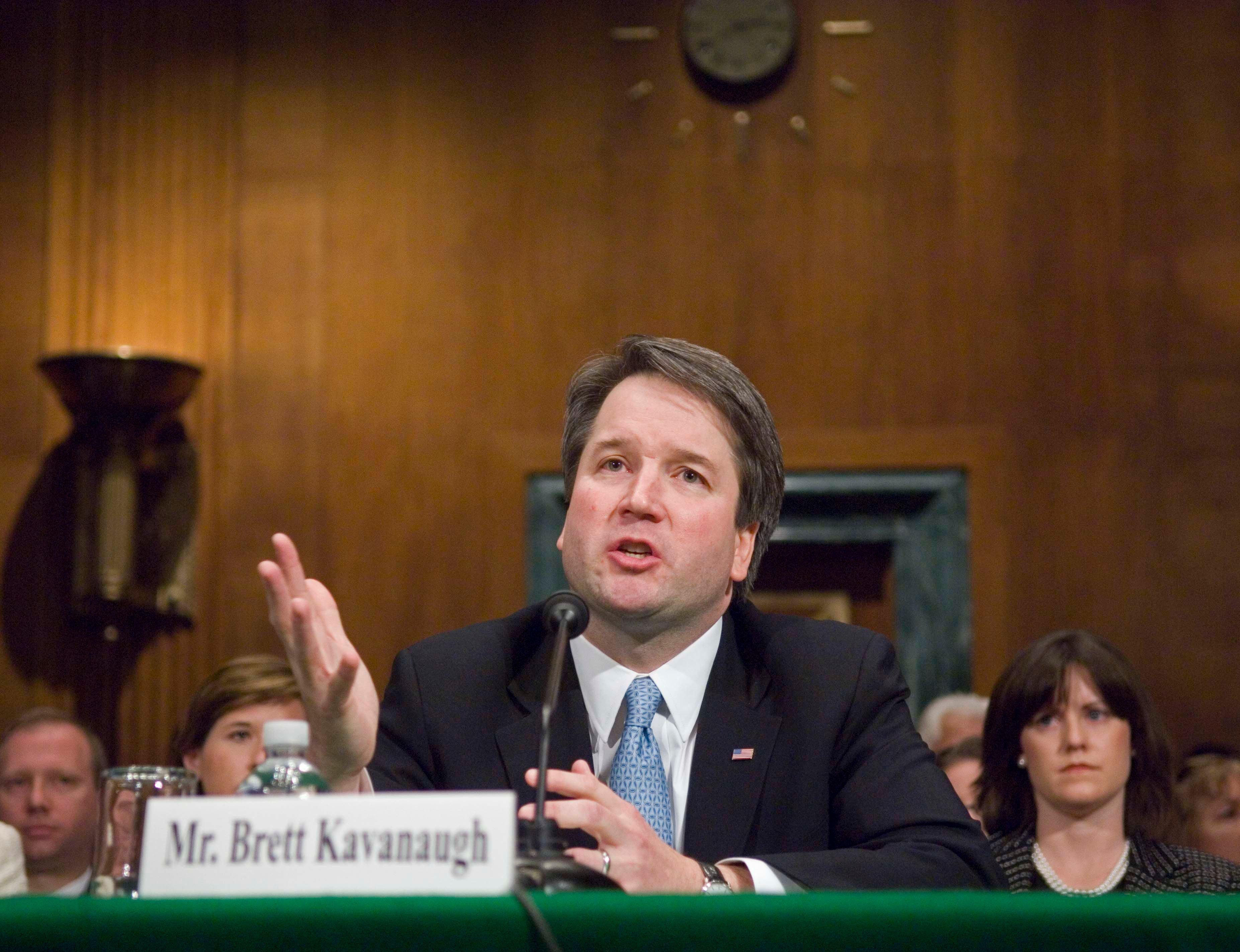 Brett Kavanaugh last appeared before the Senate Judiciary Committee fora confirmation hearing in late April 2004 as Pre