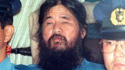 옴진리교 교주 아사하라 쇼코에 대한 사형이
