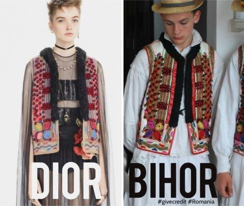 Ο Dior κυκλοφόρησε σειρά ρούχων που μοιάζει με τις παραδοσιακές φορεσιές της Ρουμανίας. Οι ντόπιοι όμως δεν το άφησαν