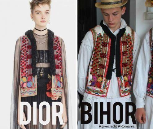 Ο Dior κυκλοφόρησε σειρά ρούχων που μοιάζει με τις παραδοσιακές φορεσιές της Ρουμανίας. Οι ντόπιοι όμως...