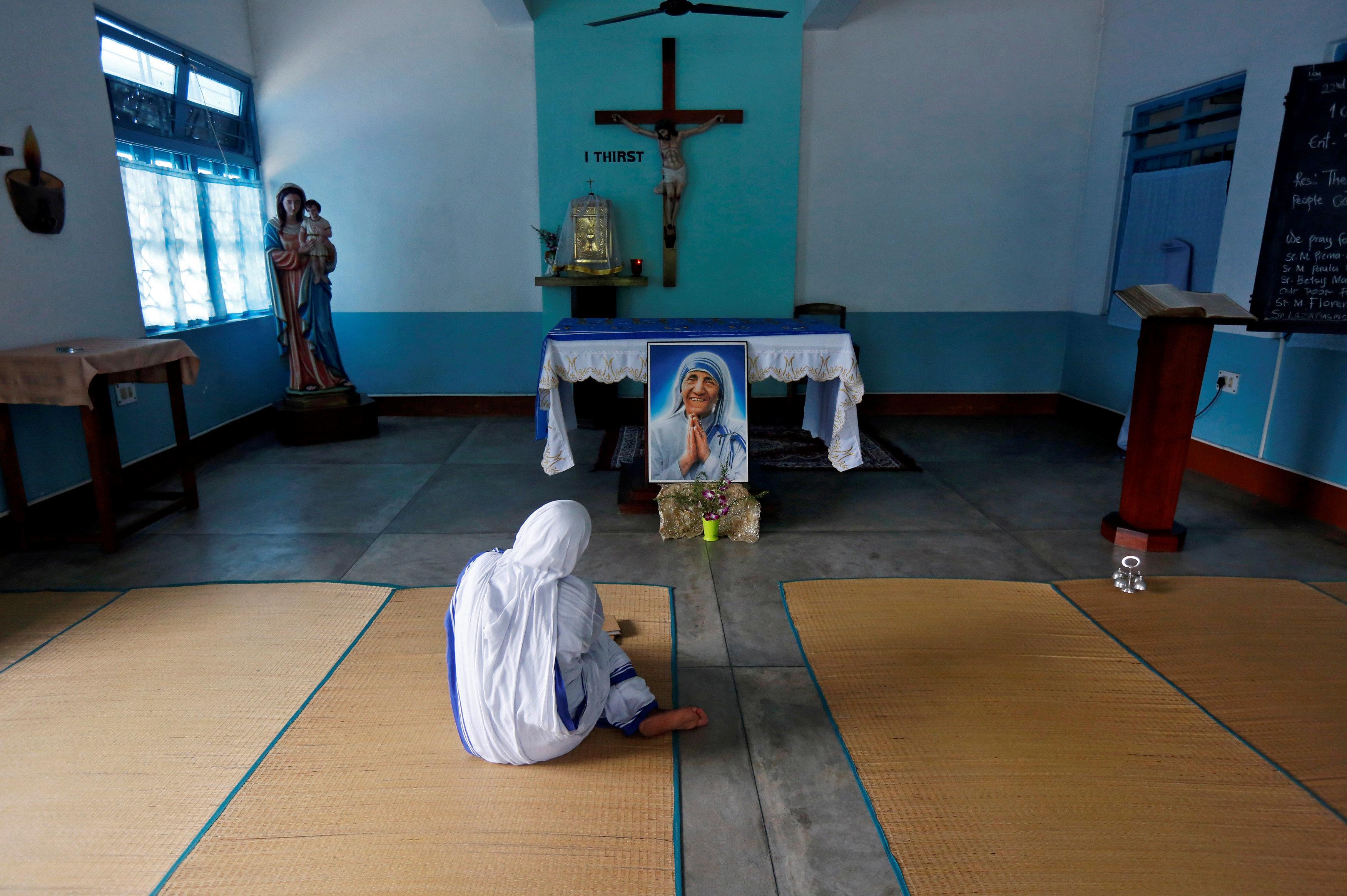 테레사 수녀가 세운 '사랑의 선교회' 직원이 센터의 아기에게 저지른