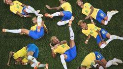 이번 월드컵 최고 웃음지뢰는 네이마르의 엄살이다(사진,