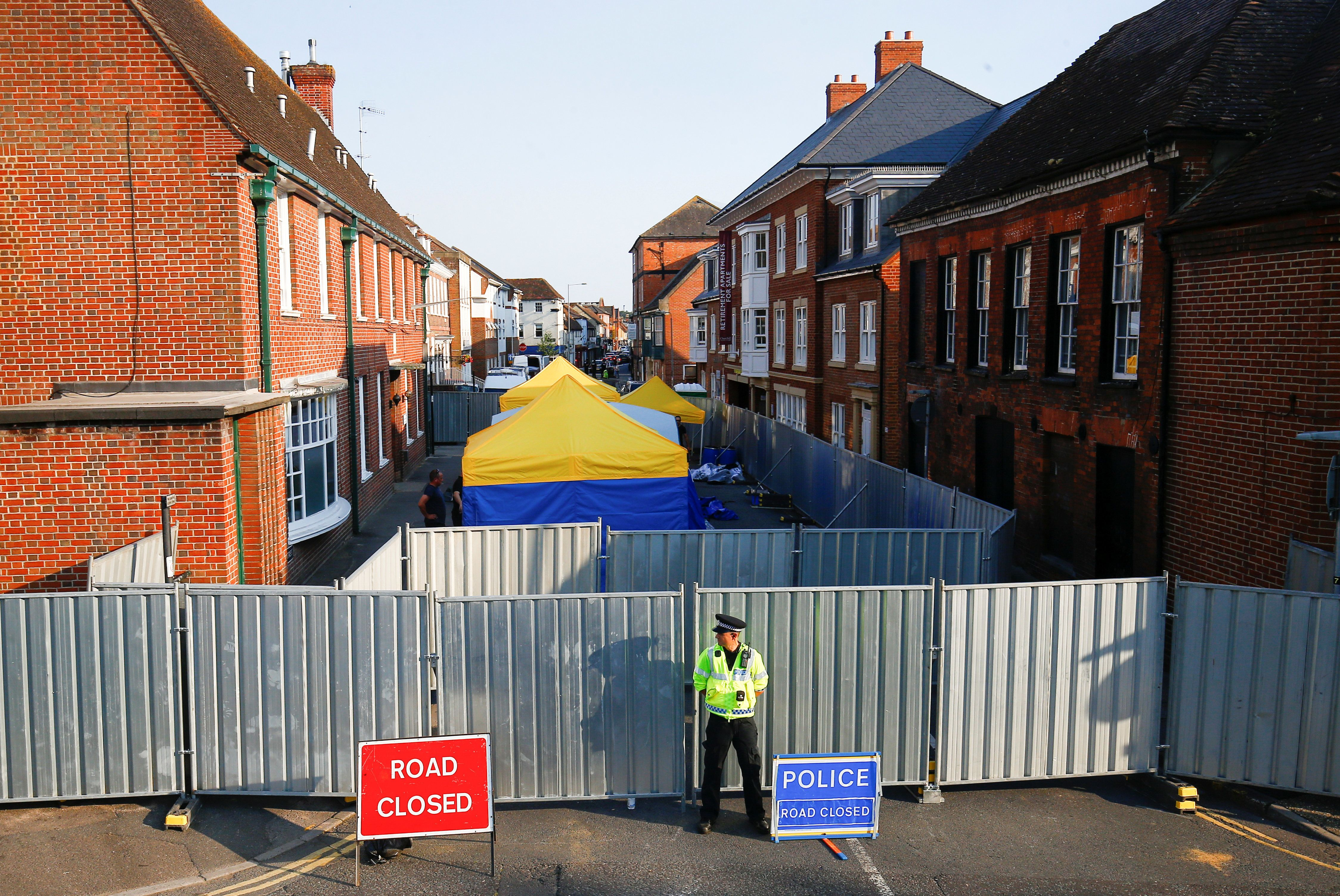 Police Can't Rule Out Third Novichok
