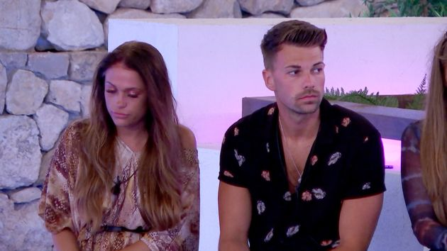 Ellie has left the Island after Georgia chose to recouple with