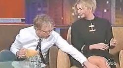 이방카 트럼프의 다리를 더듬는 앤디 딕 동영상이 다시 돌고