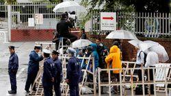 일본 당국이 옴 진리교의 후신인 '알레프'의 시설에 주목하는