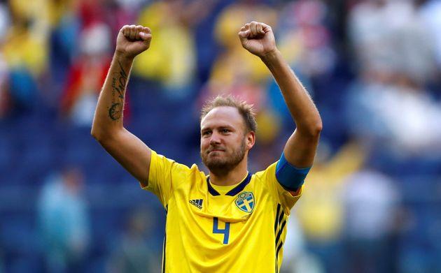 Suède-Angleterre à la Coupe du monde 2018: Andreas Granqvist a dû choisir entre l'accouchement de sa...