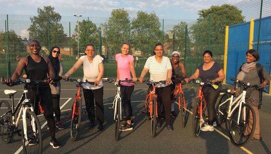 'I Can Run, Swim And Do Everything Else, So Why Not Learn To Ride?' The Skills Sessions Getting Women On Their
