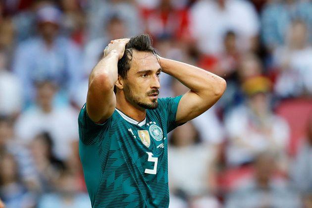 Nationalspieler Mats Hummels beim WM-Spieler in
