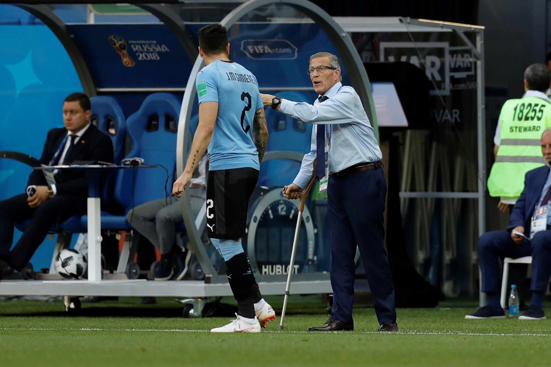 Oscar Tabarez, l'entraîneur de la