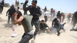 Soutien de diplomates européens à un village palestinien qu'Israël veut