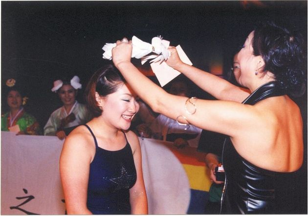 2004년 5월 열린 마지막 안티 미스코리아 페스티벌 '굿바이!