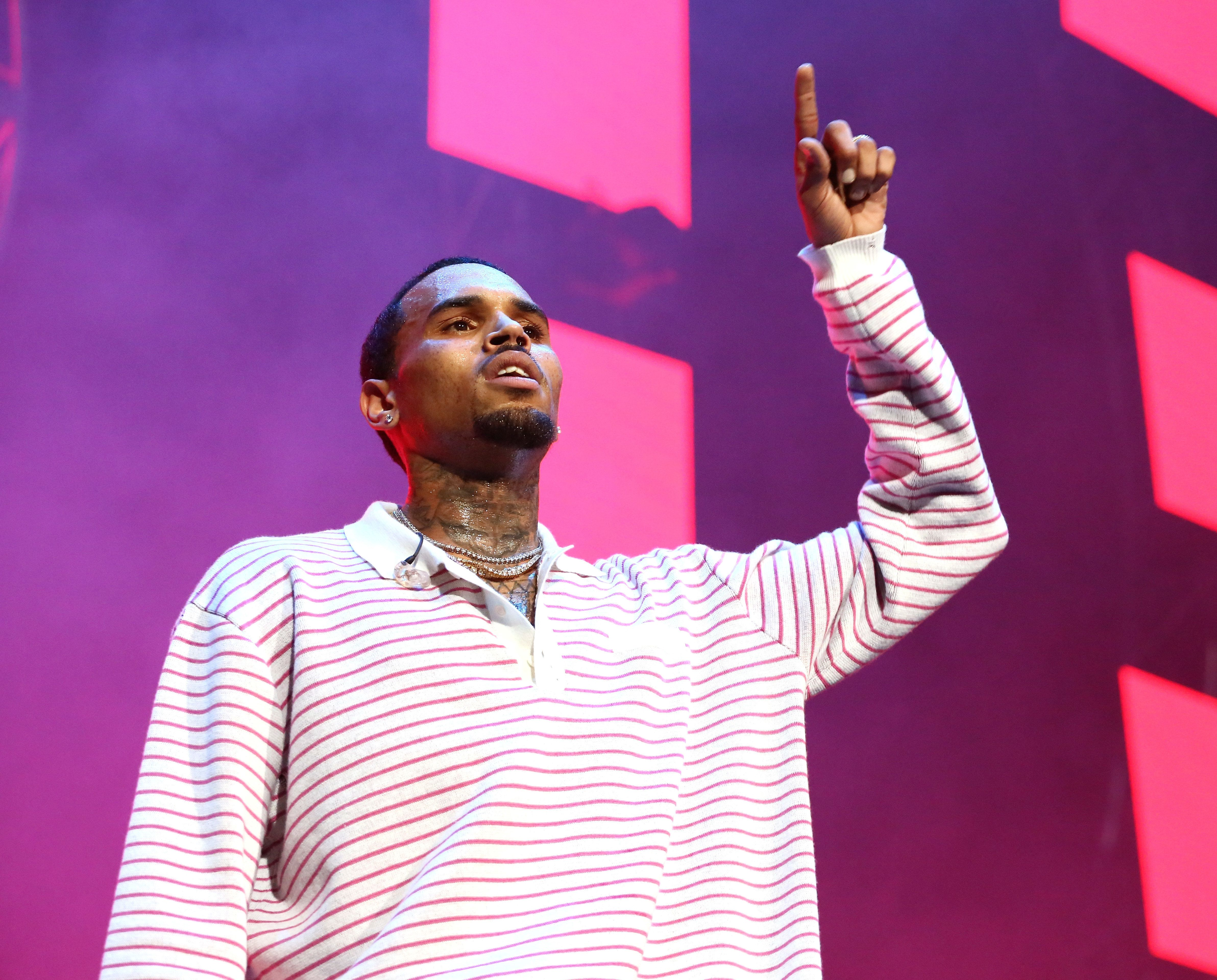 Chris Brown Arrested Following Live Show In