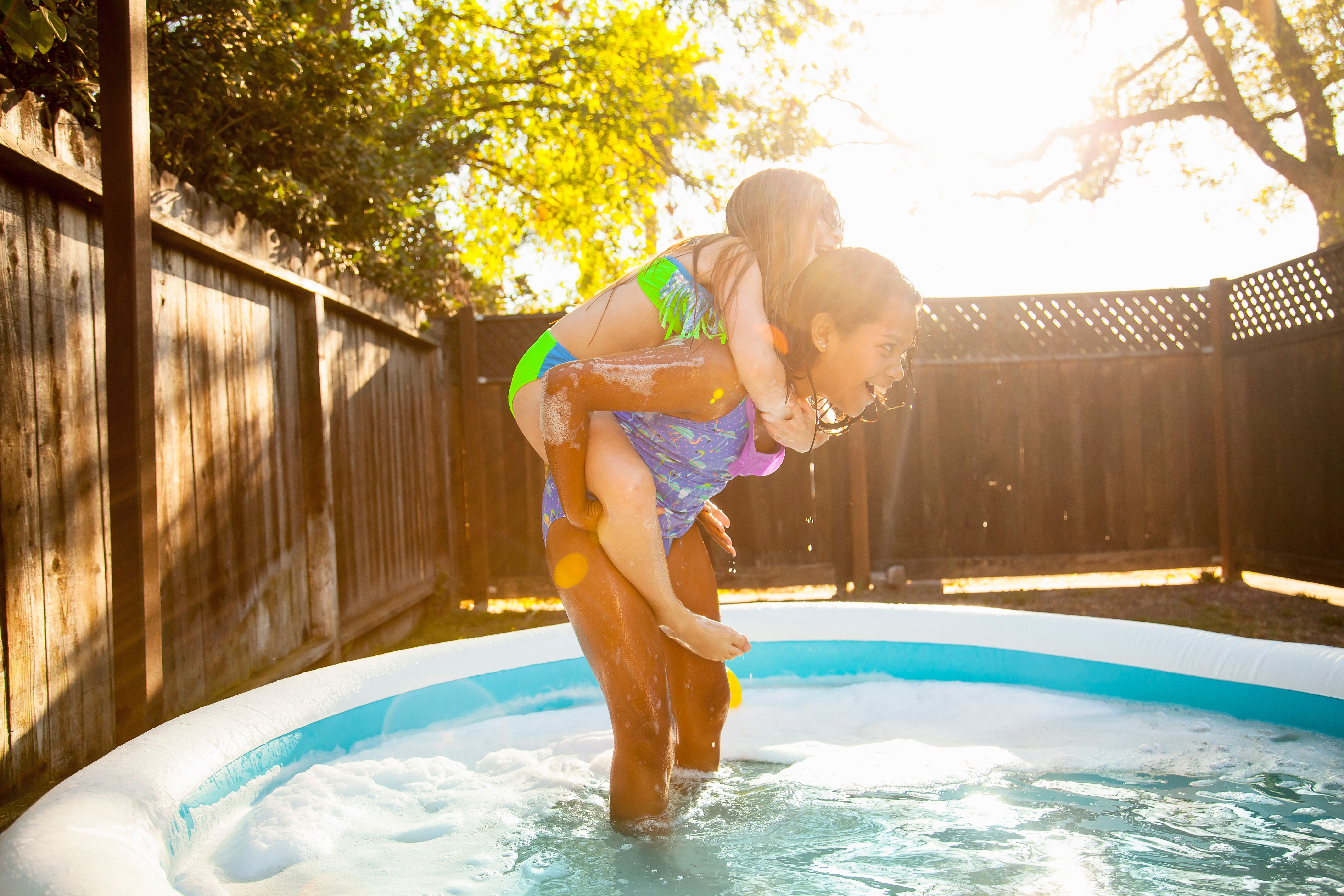 Think Twice Before You Fill Your Paddling Pool: 4 Billion Litres Of Water Will Be Wasted This