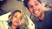 Kaley Cuoco Undergoes Shoulder Surgery For Her 'Honeymoon'