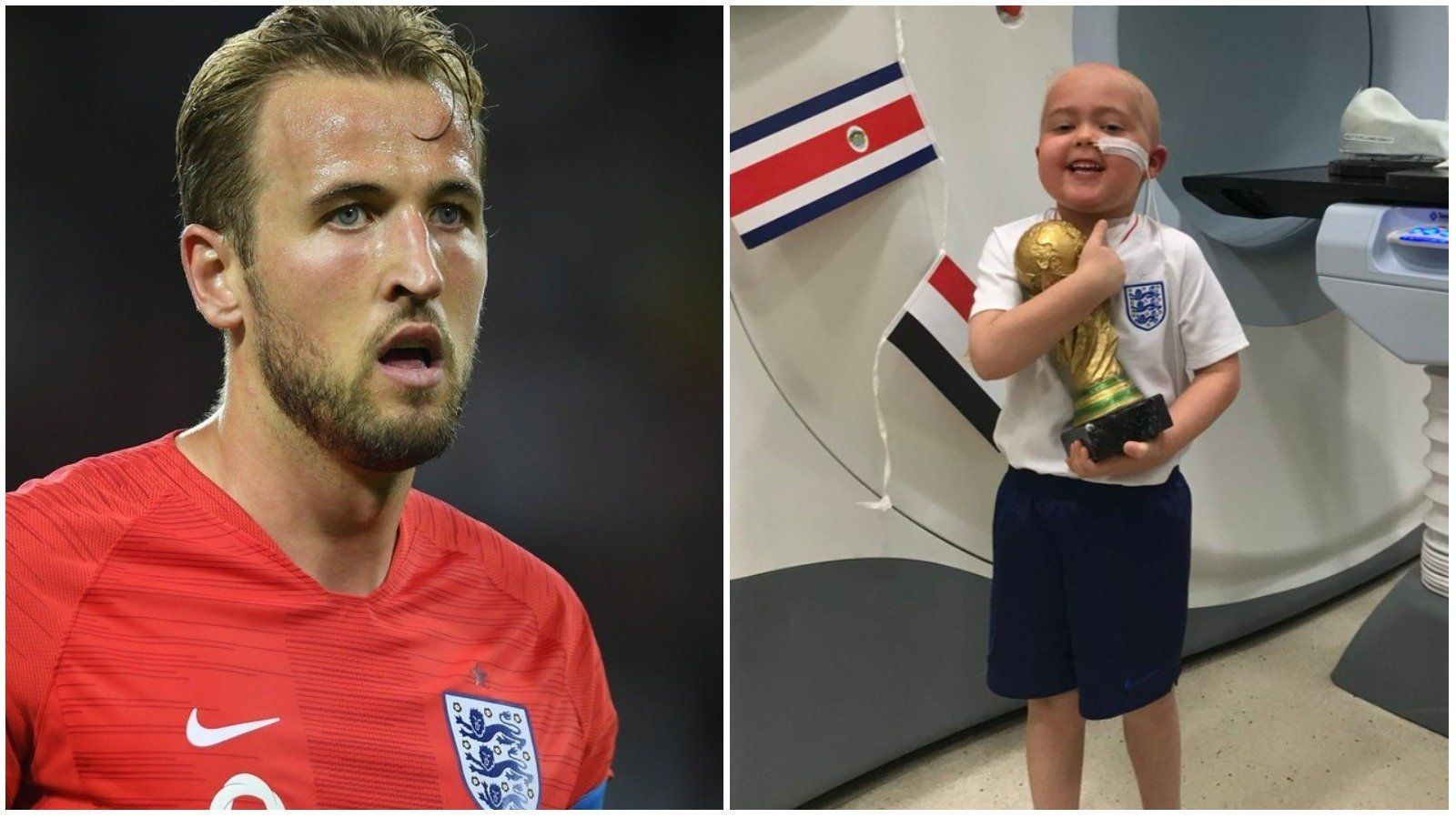'You're An Inspiration': Harry Kane Tells Brave Ben Who Wished For His Own World Cup After