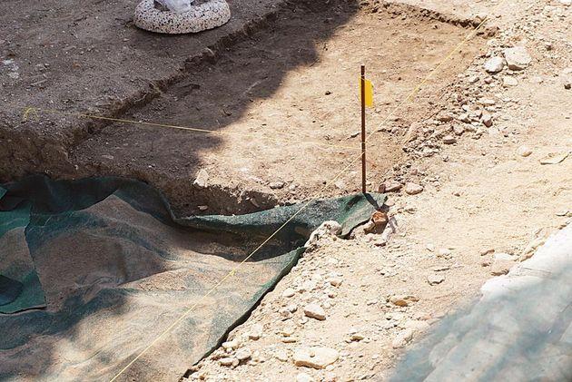 Αρχαιολόγοι εντόπισαν ανθρώπινα οστά στο κέντρο της