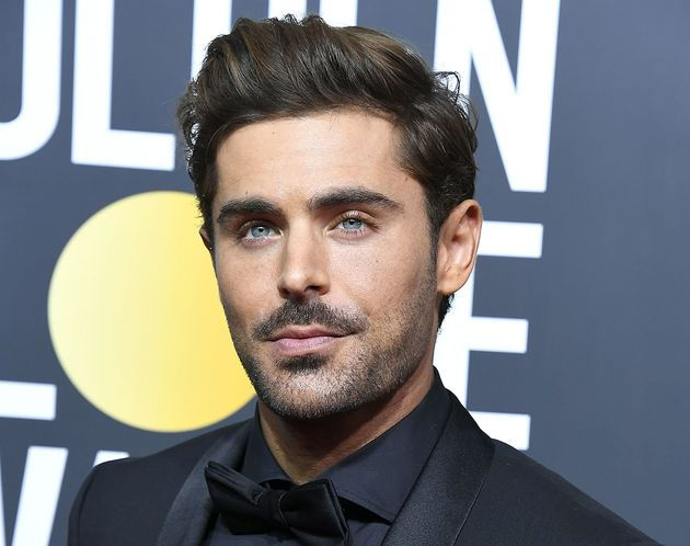 Zac Efron arrives at the 75th Annual Golden Globe