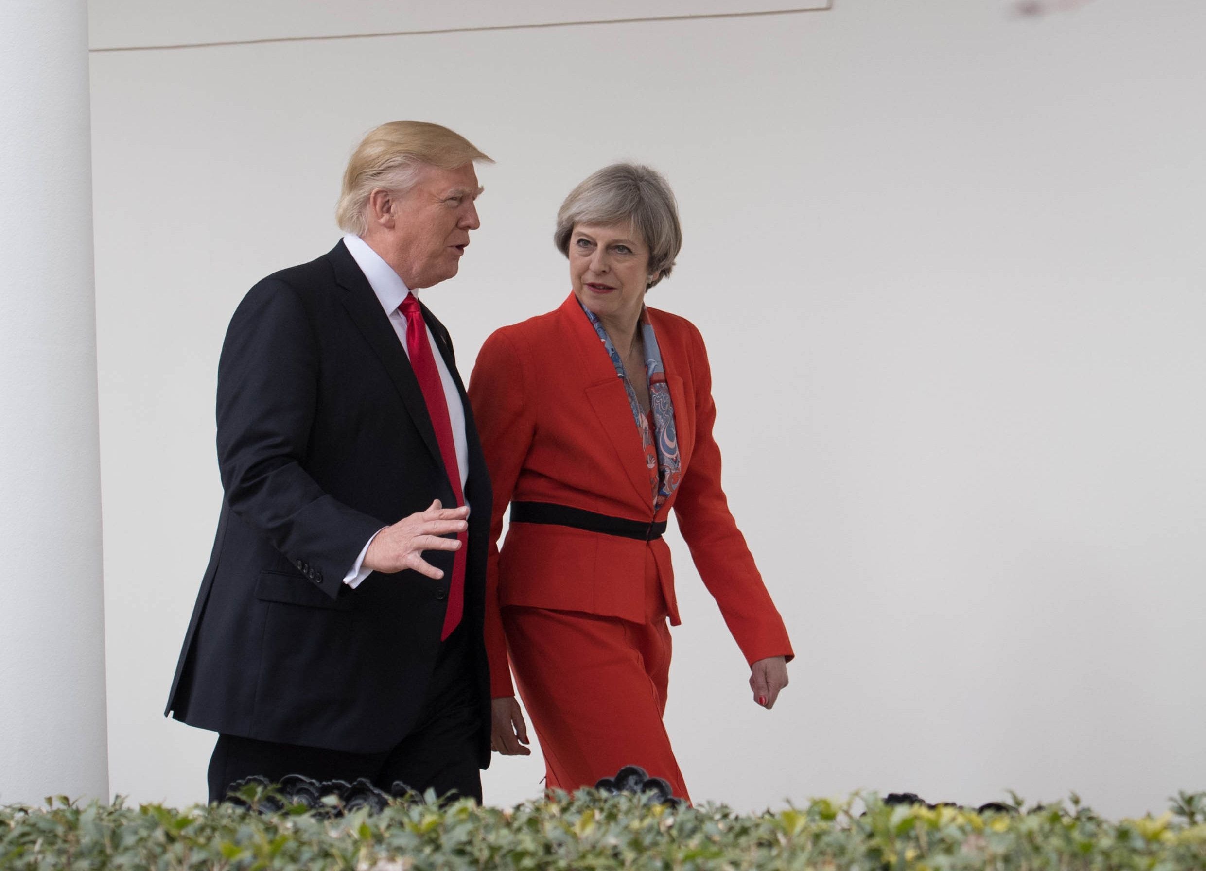 Trump To Avoid London Protests On UK Trip To Meet The