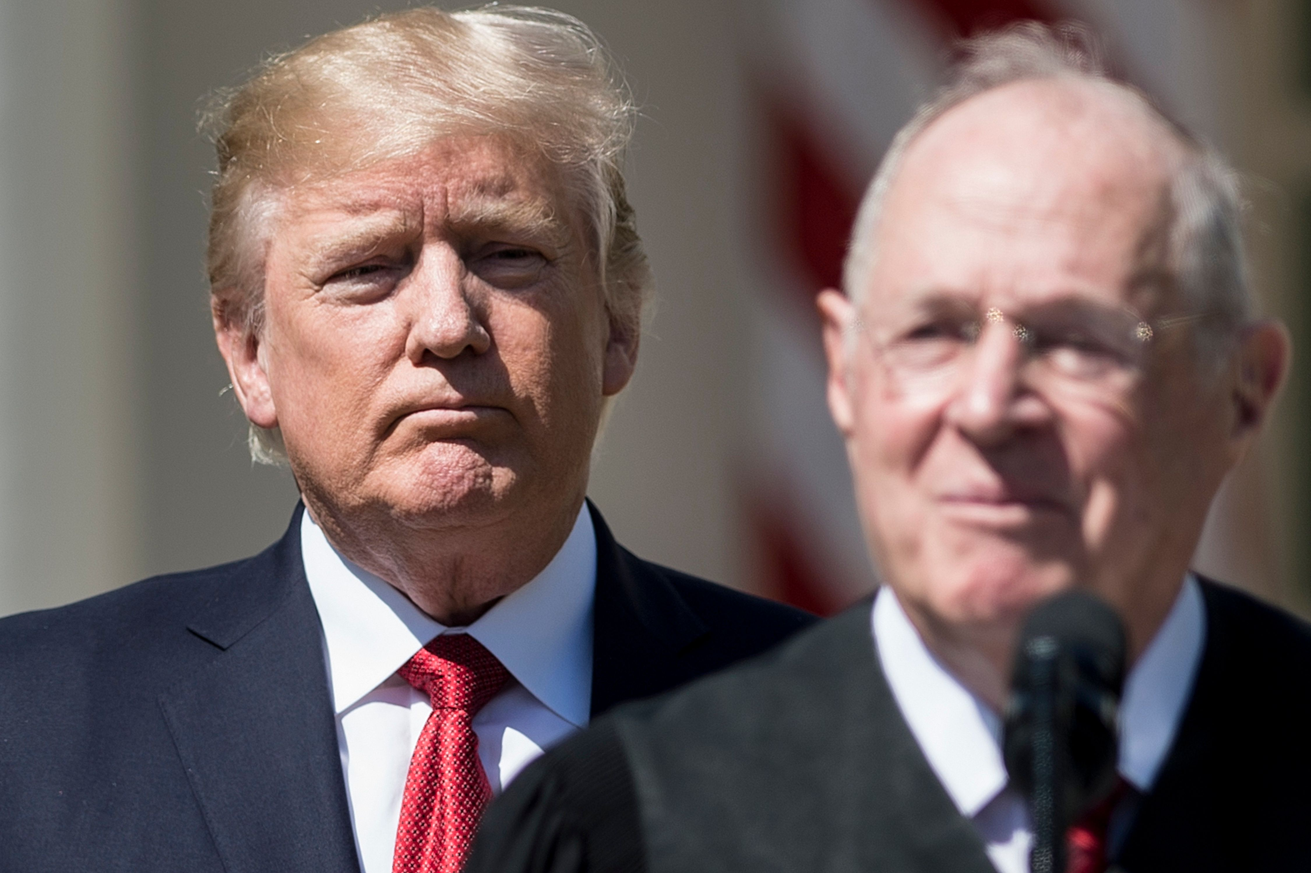 Shortly after Justice Anthony Kennedy announced his retirement, President Donald Trump said he wants to nominate arepla