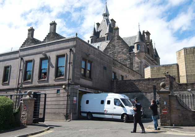 A 16 year old male leaves Greenock Sheriff Court after being charged with the rape and murder of six-year-old...