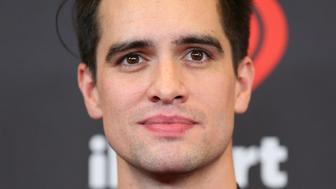 LAS VEGAS, NV - SEPTEMBER 23: Brendon Urie attends the 2016 iHeartRadio Music Festival Night 1 at T-Mobile Arena on September 23, 2016 in Las Vegas, Nevada.  (Photo by JB Lacroix/WireImage)