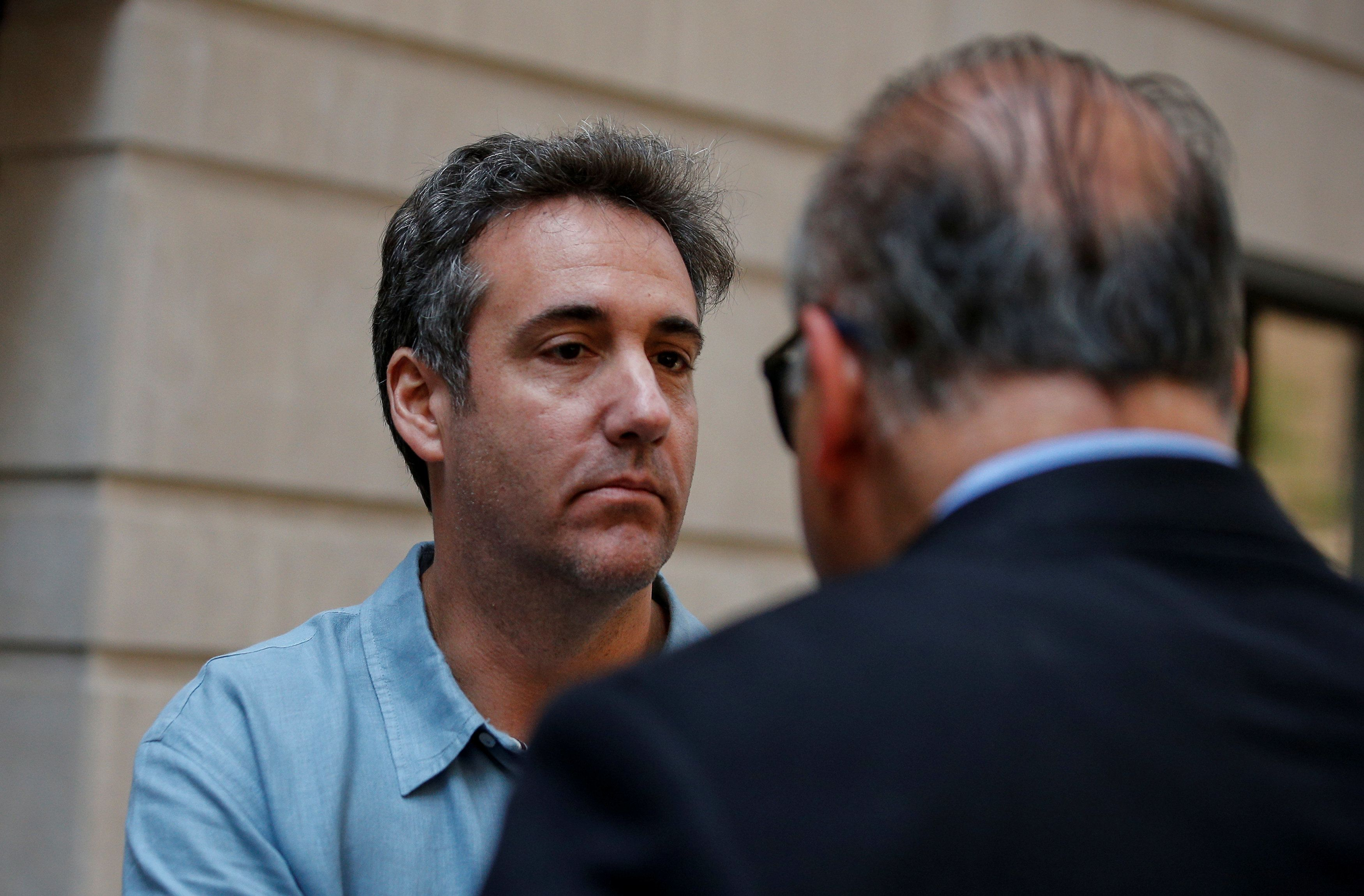 Michael Cohen Reportedly Telling Friends He Doesn't Think Trump Will Pardon Him