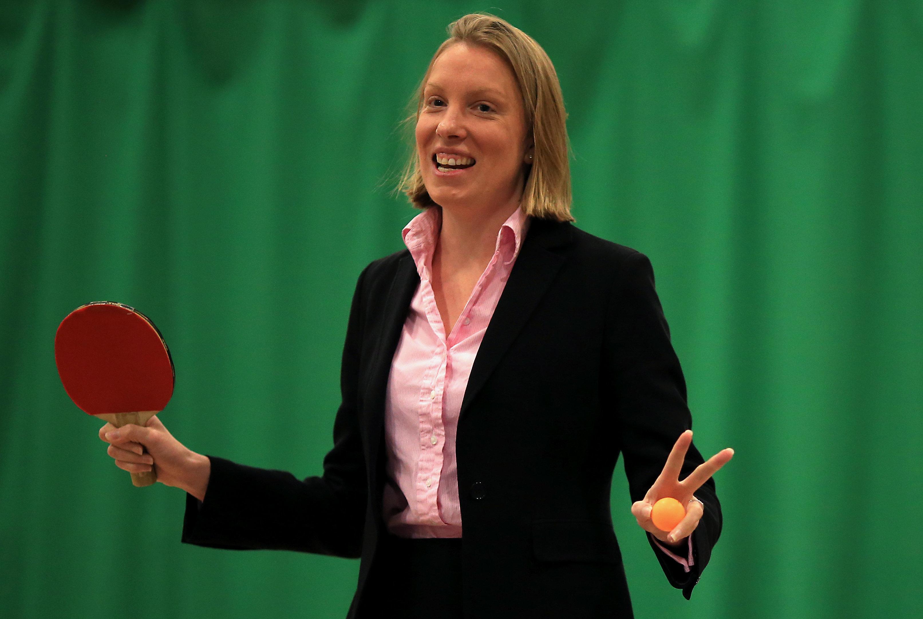 Tracey Crouch ist Ministerin für ein weltweit unterschätztes Thema, das entscheidend für das Wohlergehen aller