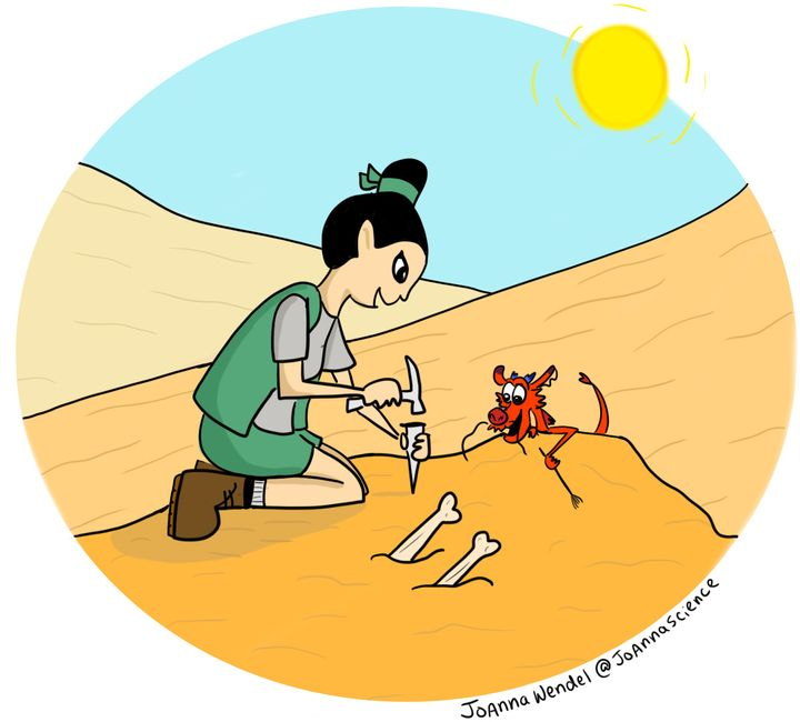 Fa Mulan, paleontologist