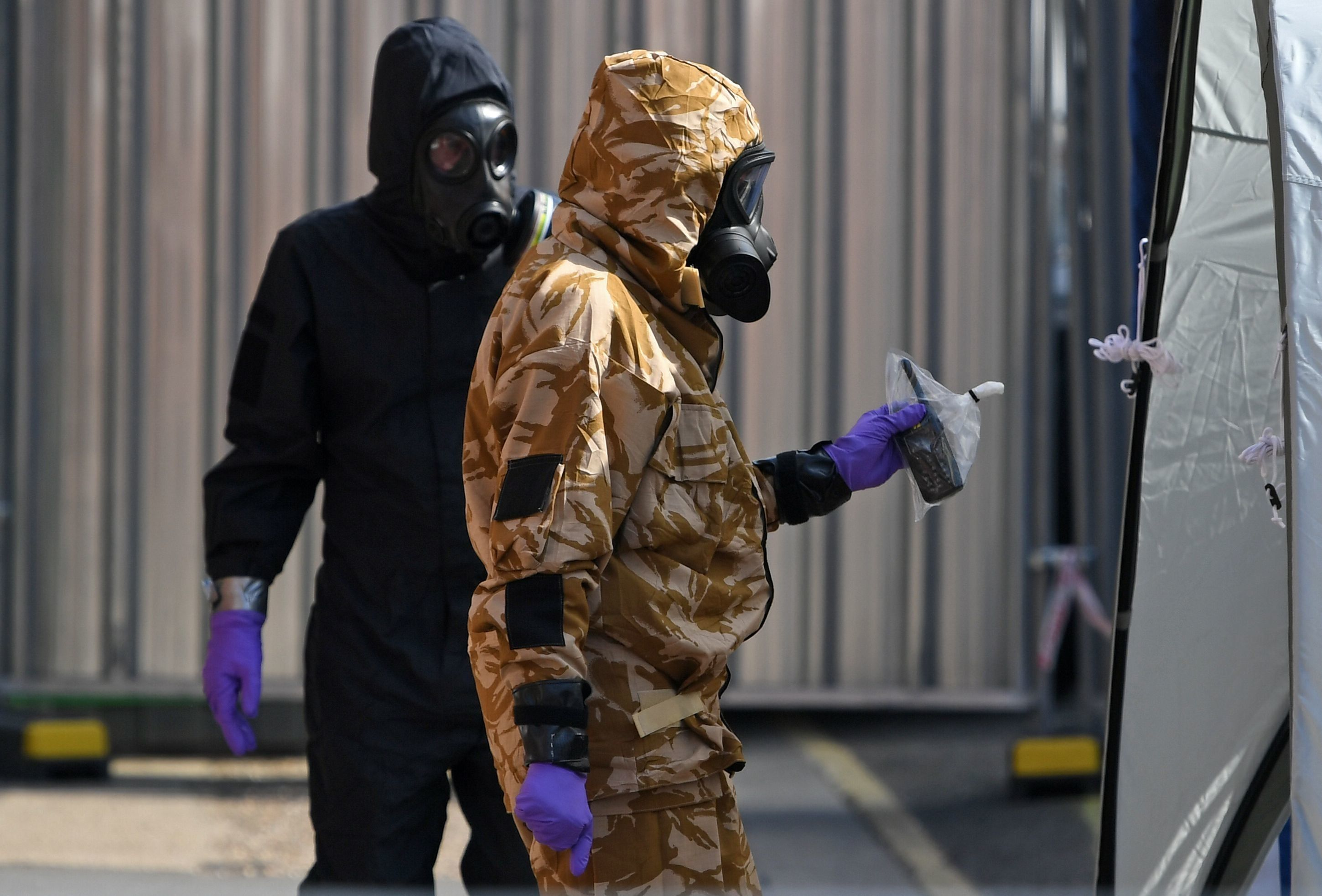 Details Of Novichok Victims' Movements Before Poisoning Revealed