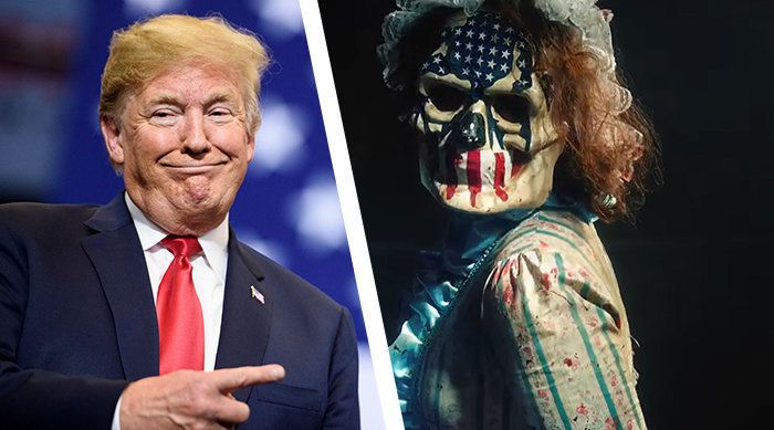 Donald Trump's New Campaign Slogan Is From A Horror Movie: