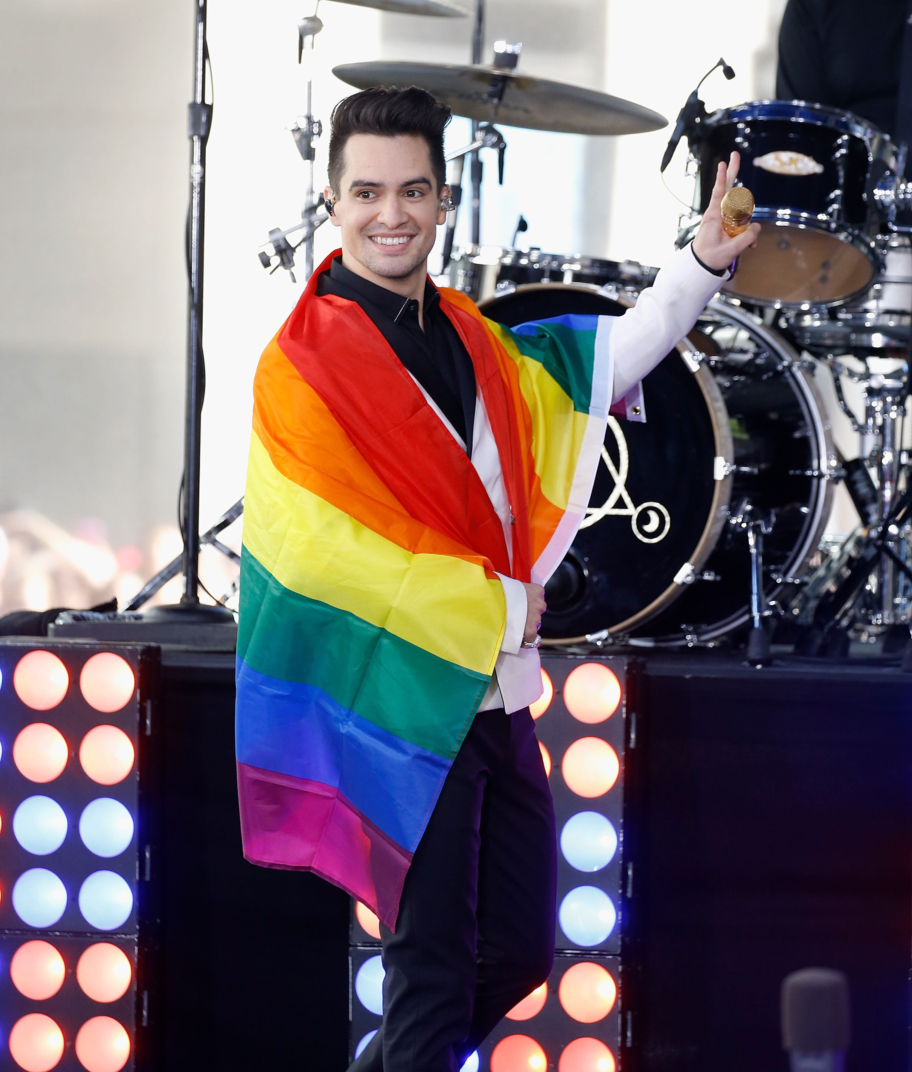 Panic! At The Disco frontman Brendon Urie comes out as pansexual