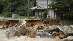 Δεκάδες νεκροί και αγνοούμενοι στην Ιαπωνία από τις καταρρακτώδεις