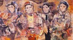 Des tableaux de M'hamed Issiakhem volés au Musée d'art moderne
