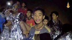 Höhlenunglück in Thailand: Gefangene Jungen schreiben bewegenden