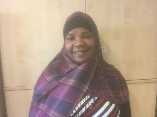 Latifa Mohammed arrived from Ghana in 2014. She is learning English and hopes to become a classroom teaching