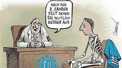 Το σκίτσο που επέλεξε το Der Spiegel για να σχολιάσει το τέλος των