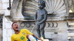 Ce détournement de Neymar après Belgique-Brésil ne passe