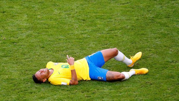 Neymar lag viel und lange am