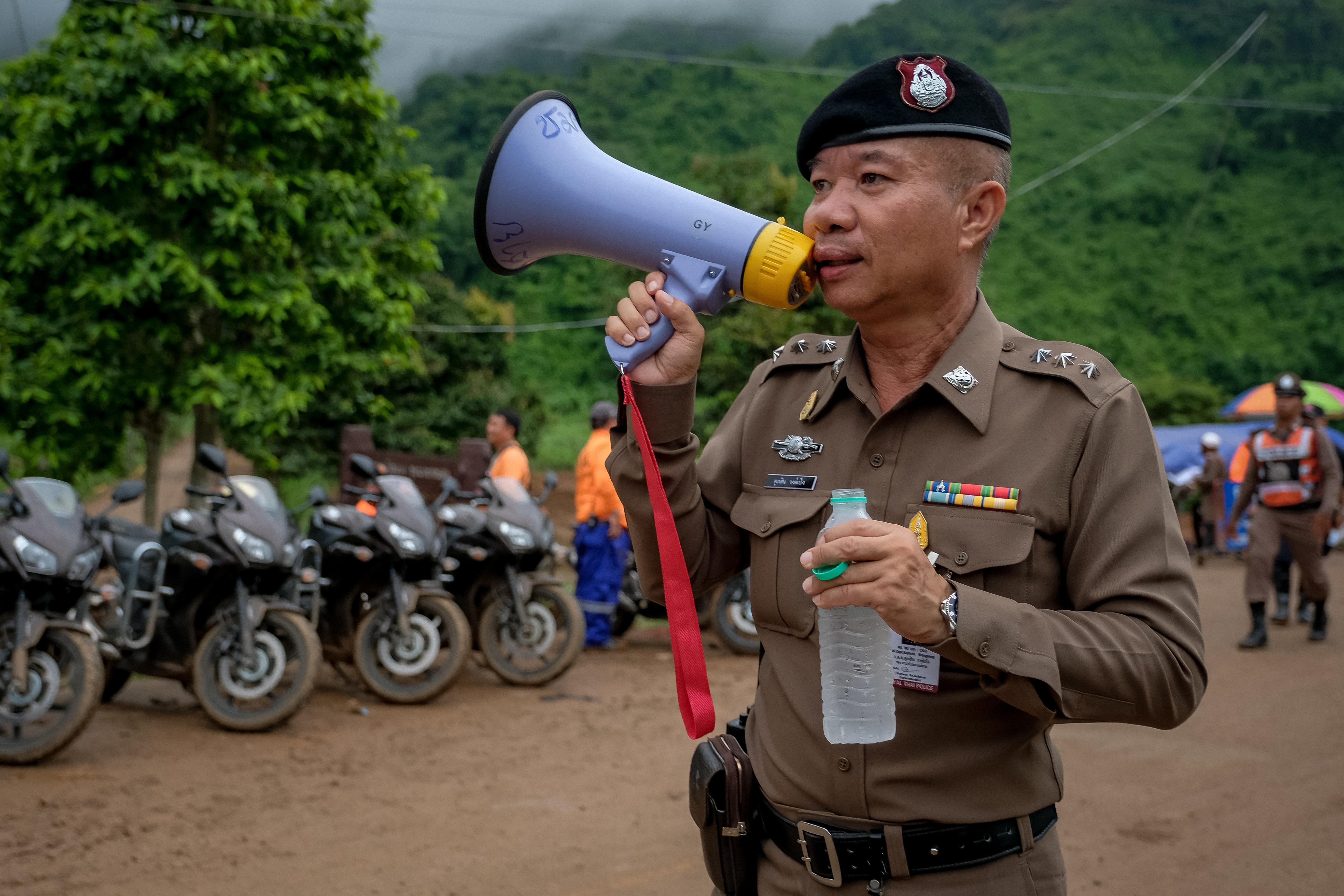 Grotte de Tham Luang en Thaïlande: les premières images de
