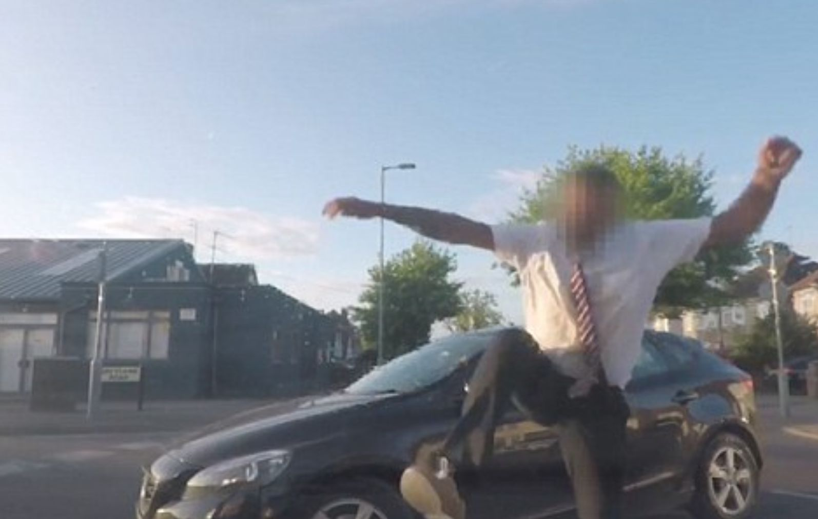 Road Rage Incident Sees Man On His Way To Job Interview Stomp On Woman's