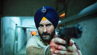 Saif Ali Khan as Sartaj Singh in Sacred Games