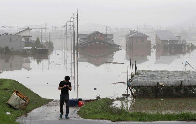 서일본 호우로 현재까지 81명이 사망하고 87명이