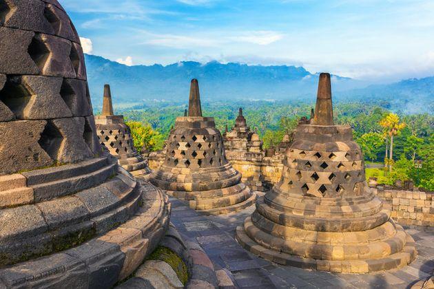 인도네시아의 보로부두르