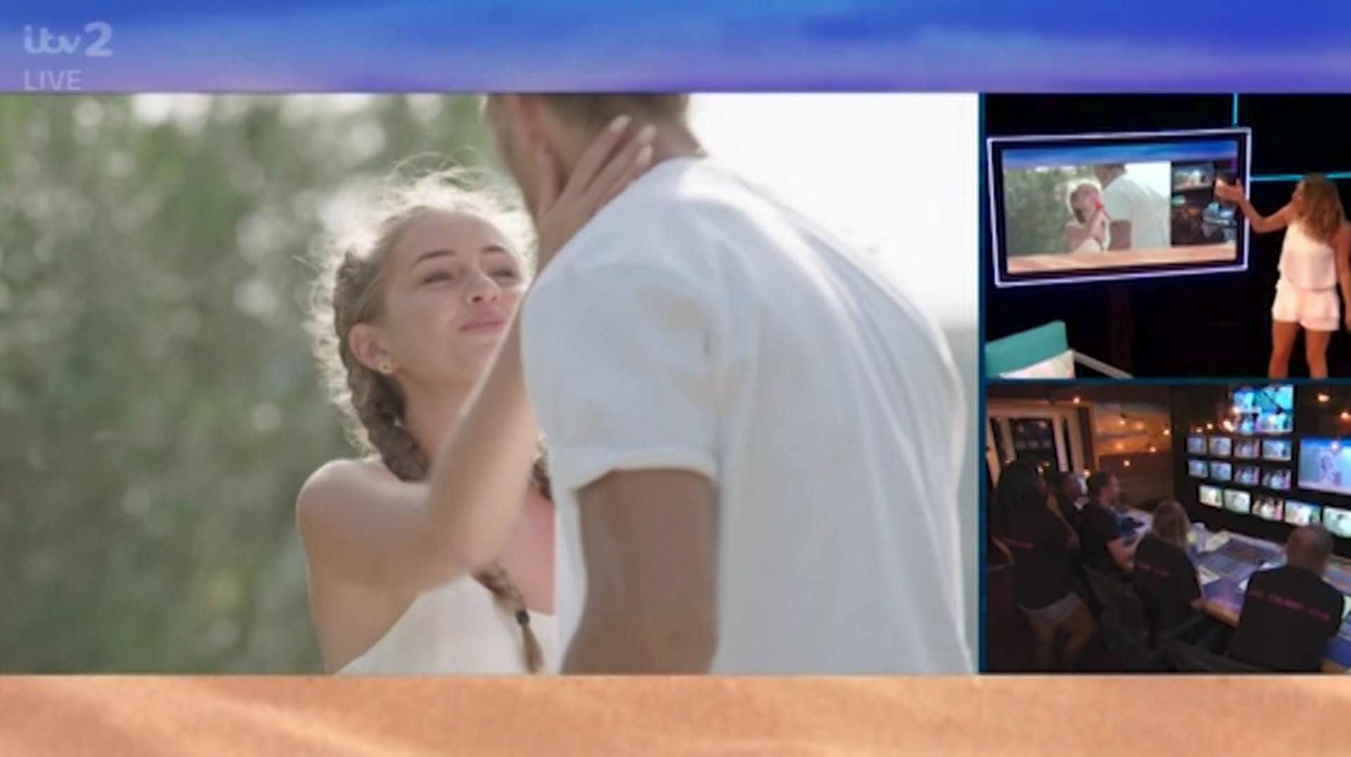 'Love Island' Uses VAR To Reveal The Truth About Georgia And Jack's Kiss