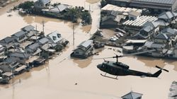 Pluies au Japon: au moins 100 morts, difficiles opérations de