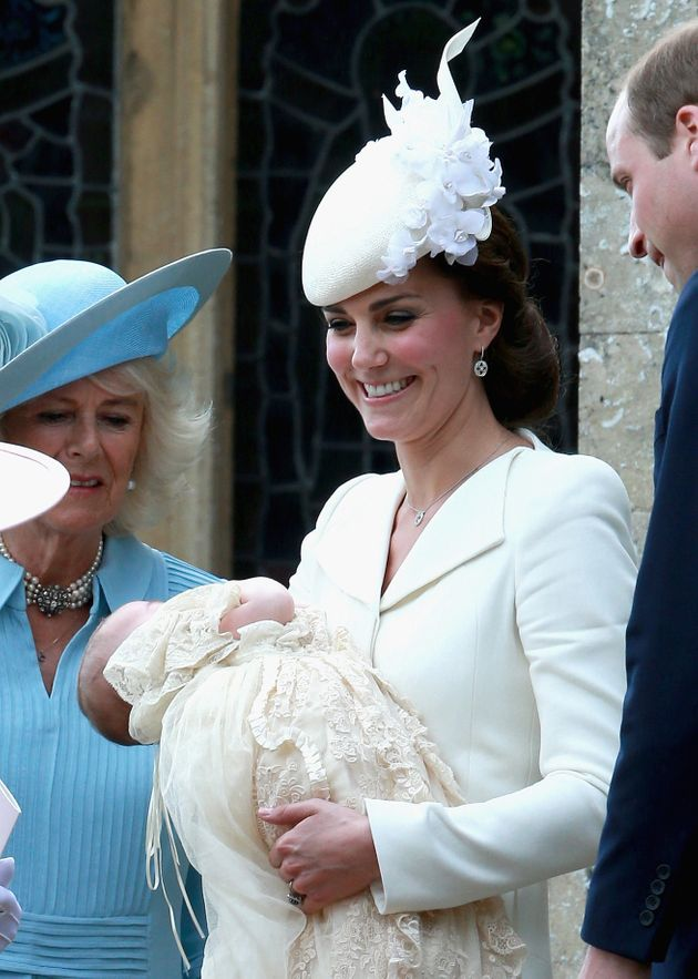 Prince Louis' Christening Details Announced By Duke And Duchess Of