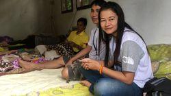 Thailand: Eltern dürfen ihre Kinder nach Rettung nur durch Glaswand