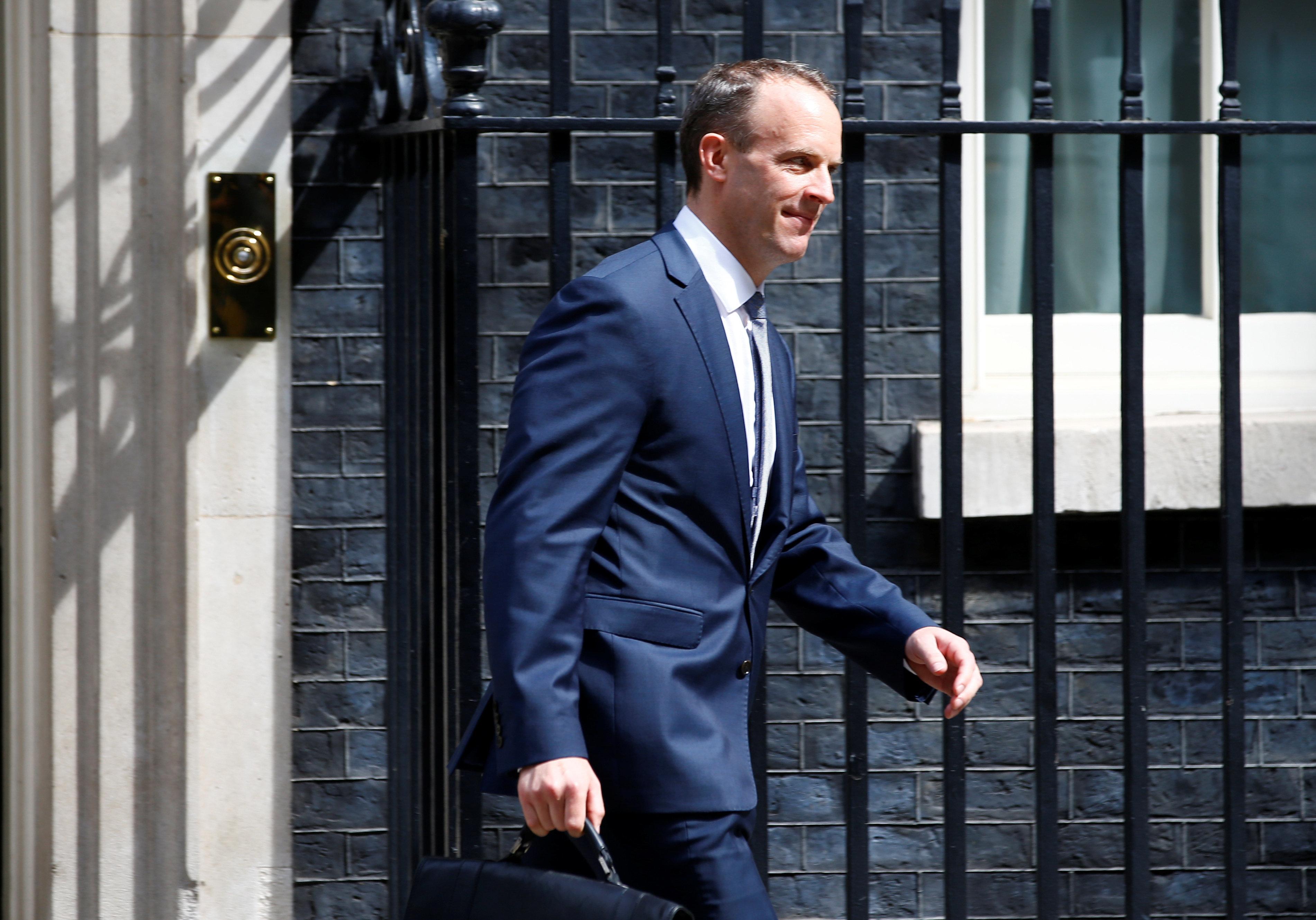 Νέος υπουργός για το Brexit διορίστηκε ο Ντομινίκ